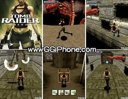 Игра основанна на консольном хите, Tomb Raider Underworld приключенческом э